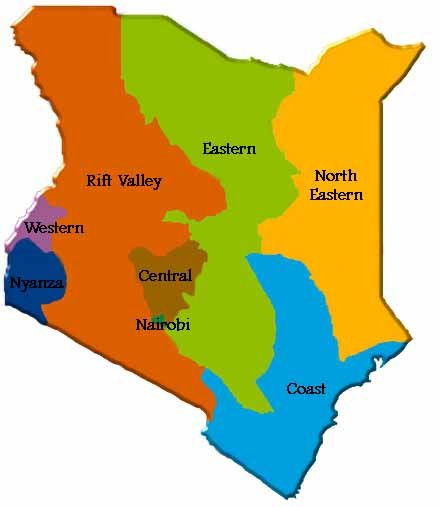 Kenya Web Map
